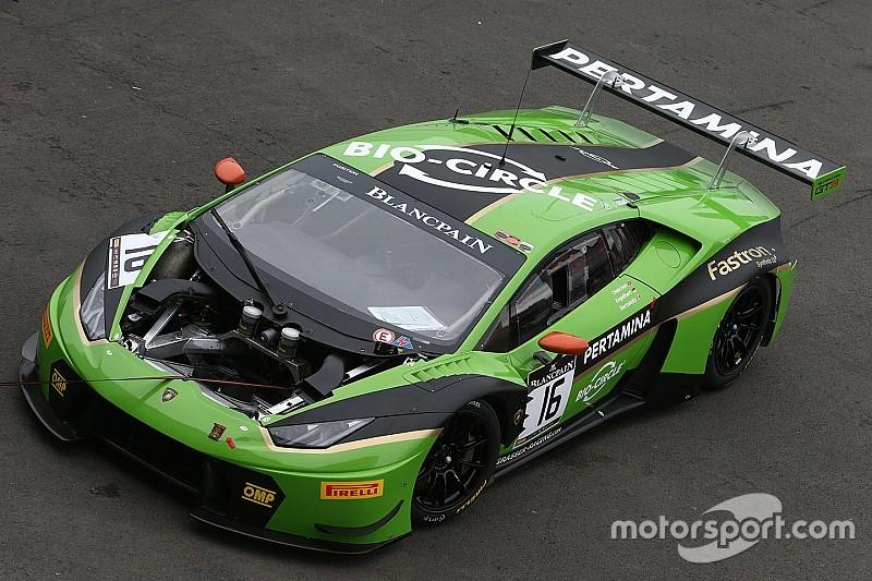 Che weekend per Lamborghini: pole e vittoria nel BES, podio nell'IMSA