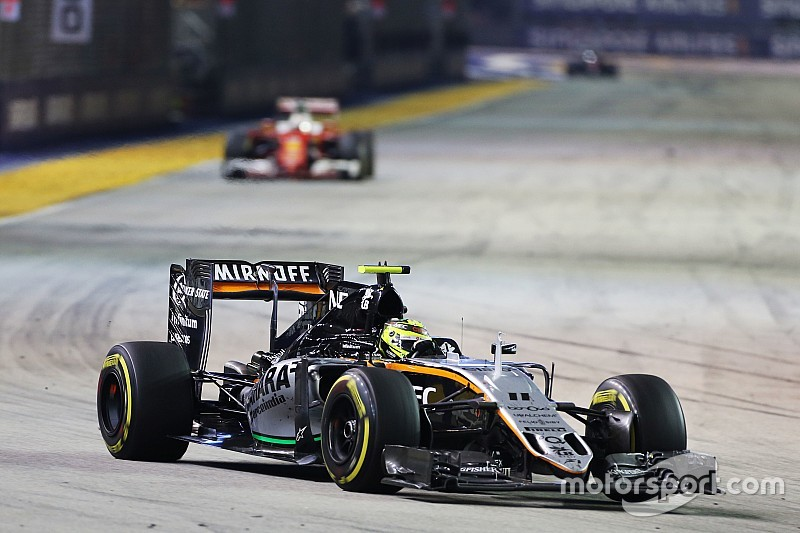 """Sergio Perez: """"Singapur eines meiner besten Formel-1-Rennen"""""""