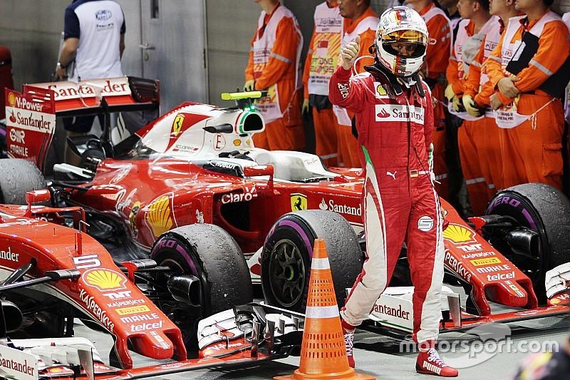 ベッテル「在るべき場所に行く」、最終戦までマシンをアップデートするフェラーリ
