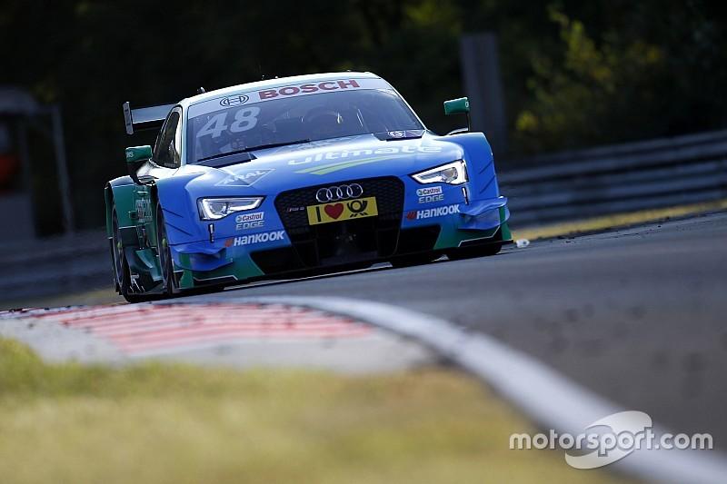 DTM Hungaroring: Mortara kalahkan Green, Audi amankan delapan posisi terdepan