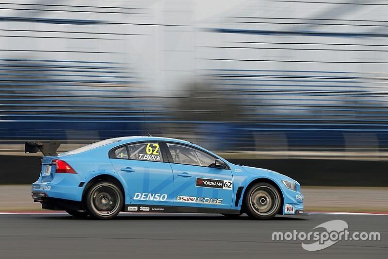 Бьорк принёс Volvo историческую победу в WTCC