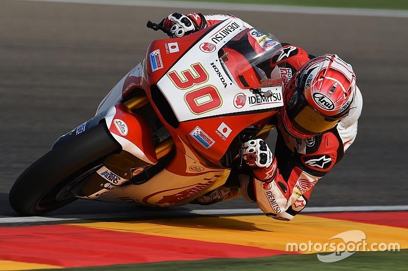 中上貴晶「表彰台を争えると思っていたが、リヤのグリップを得られなかった」:Moto2アラゴン