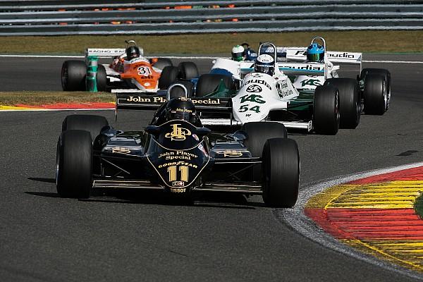 Bildergalerie: Historische Formel-1-Autos in Spa