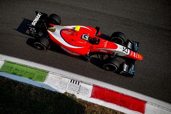 Eriksson no competirá en las dos rondas finales de la GP2 Series