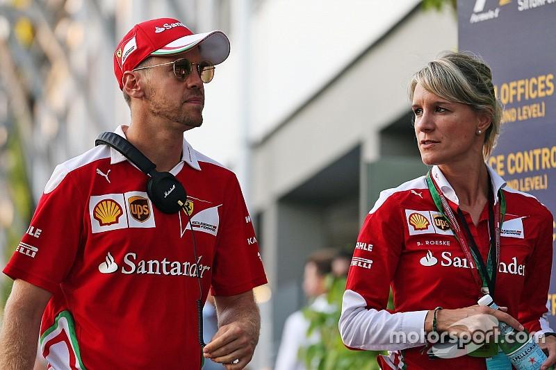"""Vettel: """"El objetivo de Ferrari es emular lo del año pasado"""""""
