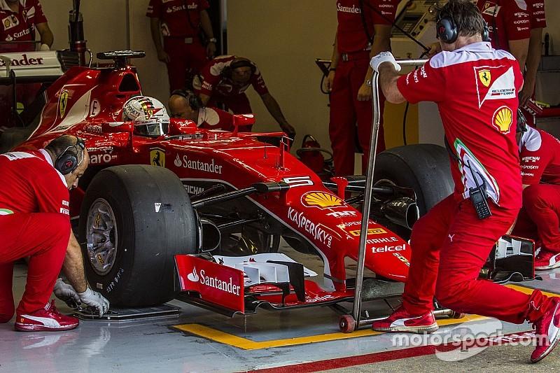 """Vettel: """"Auto's voor 2017 Pirelli-tests ontberen grip en downforce"""""""