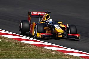 FIA F2 Relato da corrida Giovinazzi vence em Sepang e tira de Gasly liderança da GP2