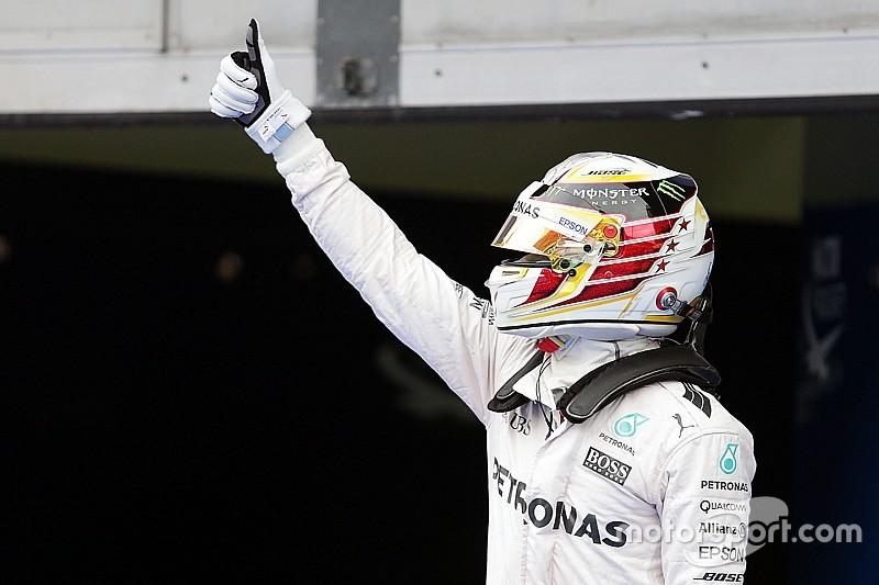 """Hamilton: """"La pole record? Potevo fare anche meglio..."""""""