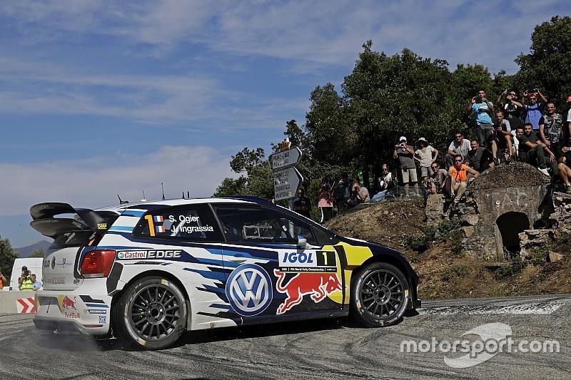 WRC Франція. Ож'є домінує на рідній землі