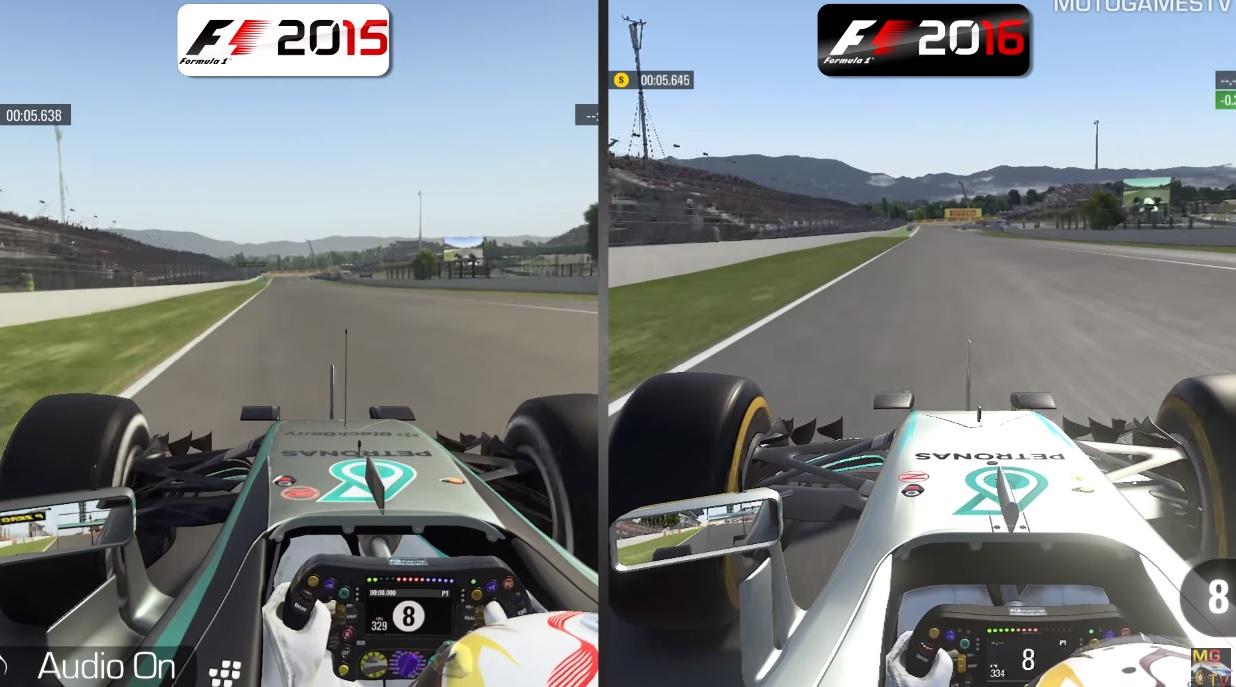 F1 2016 Vs. F1 2015: darabokra veri az új F1-es game a tavalyit?