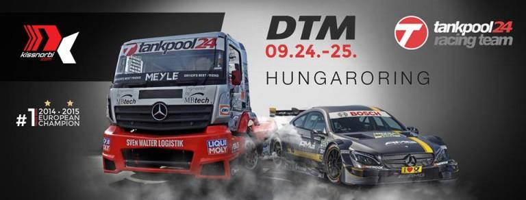 Kiss Norbi pénteken kipróbál egy DTM-autót a Hungaroringen!