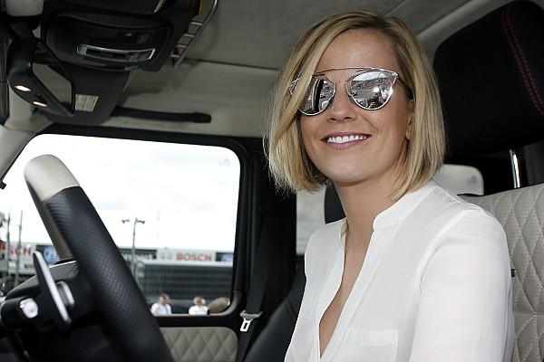 Susie Wolff, on yıl içinde F1'de kadın pilot görmeyi umuyor