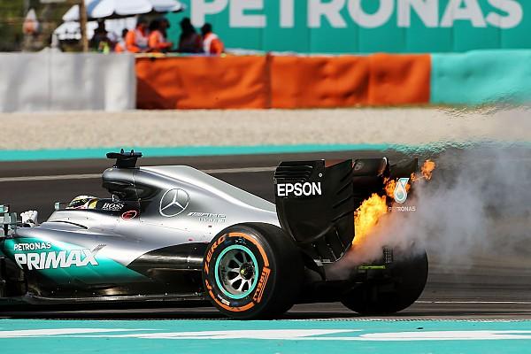 Mercedes, Hamilton'ın yaşadığı patlamanın nedenini buldu
