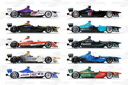 Galería: los autos de la temporada 3 de la Fórmula E