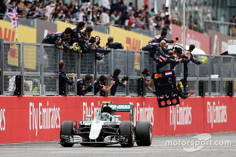 Rosberg samurai di Suzuka, Mercedes è campione Costruttori