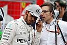Hamilton, baja por lesión en el test de Pirelli