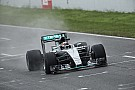 Test Pirelli 2017: ancora freddo e pioggia a Barcellona per la Mercedes