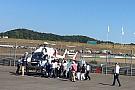 Lorenzo in ospedale in elicottero per effettuare accertamenti