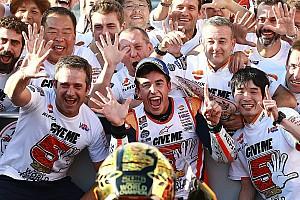 MotoGP Репортаж з гонки Маркес здобув титуп після аварій Россі та Лоренсо