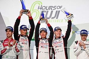 WEC レースレポート WEC富士決勝:トヨタ歓喜の優勝。2014年以来の勝利をホームの富士で達成