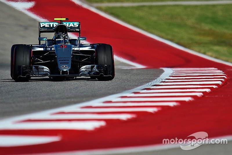 Formel 1 in Austin: Freitagsbestzeit für Nico Rosberg