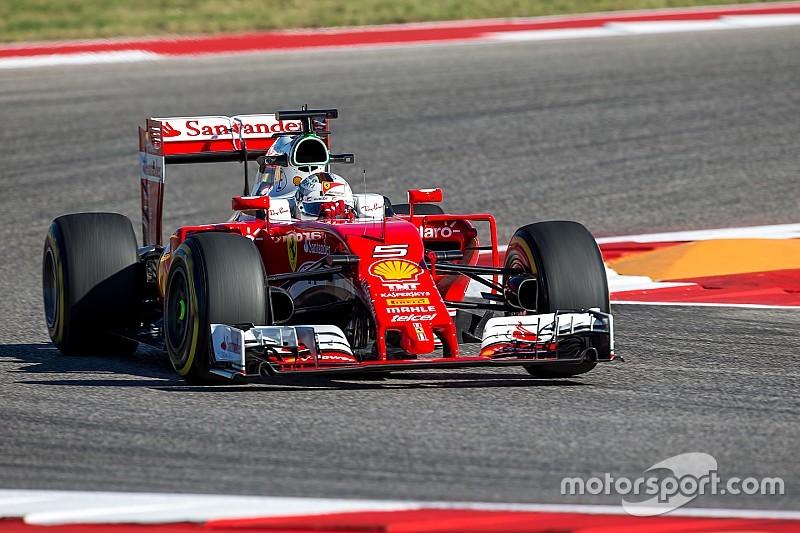 Vettel fue reprendido por no respetar un poste