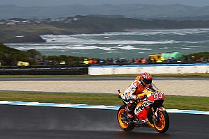 MotoGP Qualifying report MotoGP Australia: Marquez pole position, Rossi start ke-15