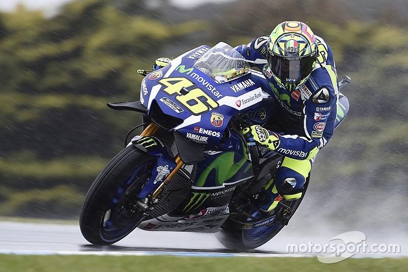 """Valentino Rossi: """"Bringen den Reifen nicht auf Temperatur – Lorenzo und ich"""""""