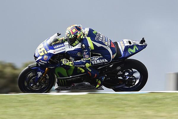 MotoGP 罗西在热身阶段就有预感能站上颁奖台