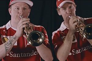 Formule 1 Actualités Vidéo - Vettel et Räikkönen jouent de la trompette à Mexico