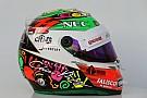 Galería: el benéfico casco de Sergio Pérez para el GP de México