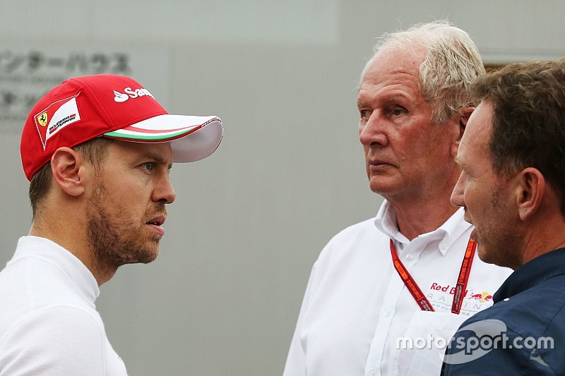 """Helmut Marko kritisiert Vettel: """"Eines vierfachen Weltmeisters nicht würdig"""""""