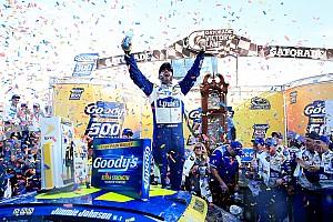 NASCAR Cup Résumé de course Jimmie Johnson est-il en route vers un 7e titre?