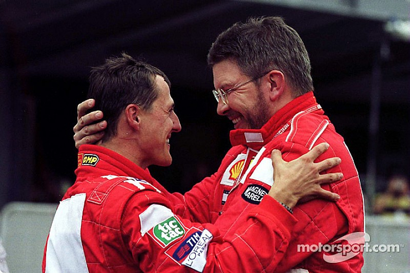 "Schumacher showing ""encouraging signs"", says Brawn"