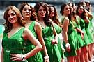 Las chicas de la parrilla del GP de México