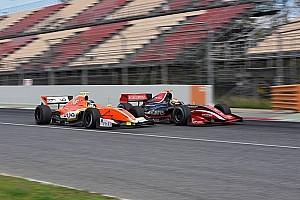 V8 F3.5 Kwalificatieverslag F3.5 Barcelona: Deletraz op pole in finale, Dillmann slechts achtste