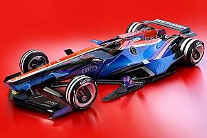 F1 Top List 图集:幻想F1之2030年概念设计—马诺车队&索伯车队