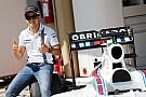 Decoración especial para Felipe Massa en Interlagos