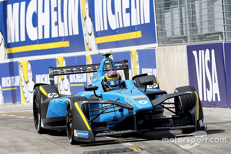 Formule E Marrakesh: Buemi snelst in tweede training, Bird crasht