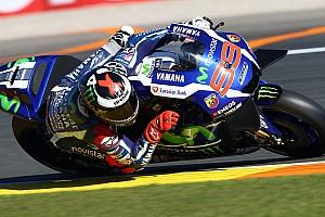 MotoGP Отчет о квалификации Лоренсо выиграл финальную квалификацию сезона