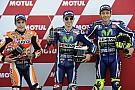 Grid start balapan MotoGP Valencia 2016
