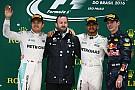 Hamilton ganó un interminable GP de Brasil