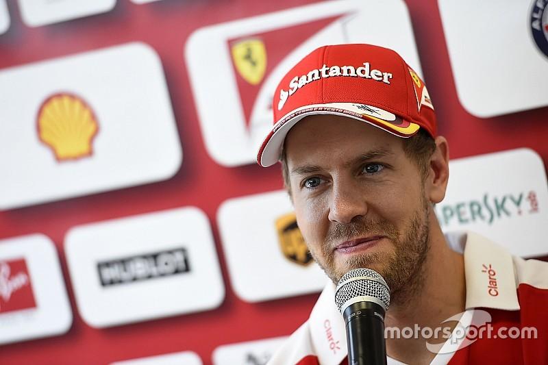 Ferrari desiste de apelar de punição dada a Vettel no México