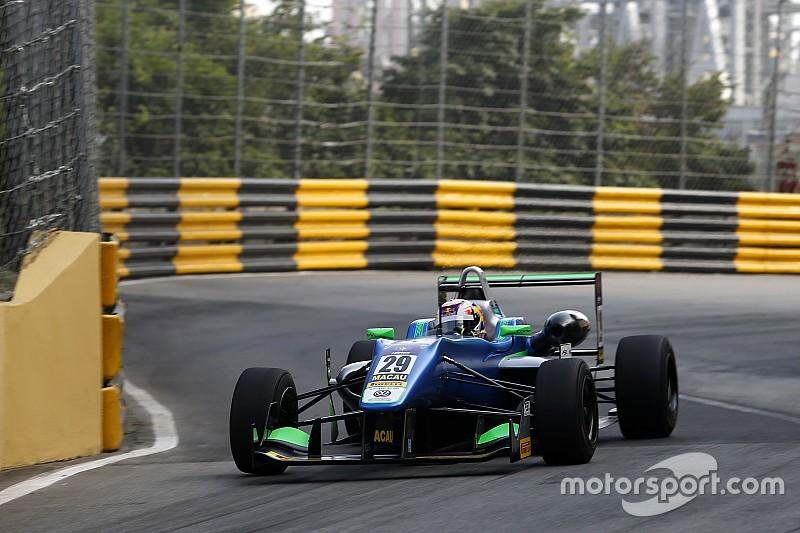 La pole provisoire à Félix da Costa au milieu des crashs
