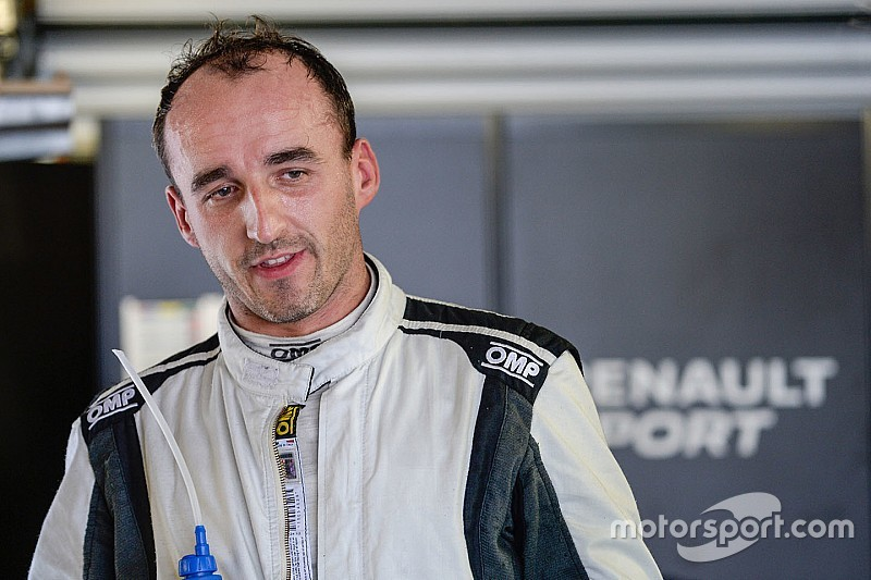 Kubica test ByKolles LMP1 tijdens rookietest in Bahrein