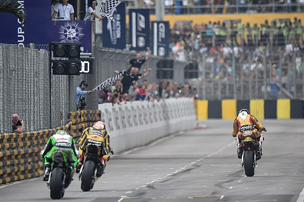 Macau Motorcycle Grand Prix: Das Renn-Ergebnis in Fotos