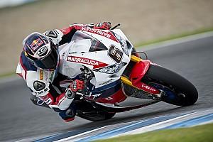 Superbike-WM Feature Bildergalerie: Stefan Bradl testet sein neues Honda-Superbike