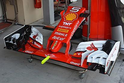 Technique - Une sonde fixée sur l'aileron avant des Ferrari