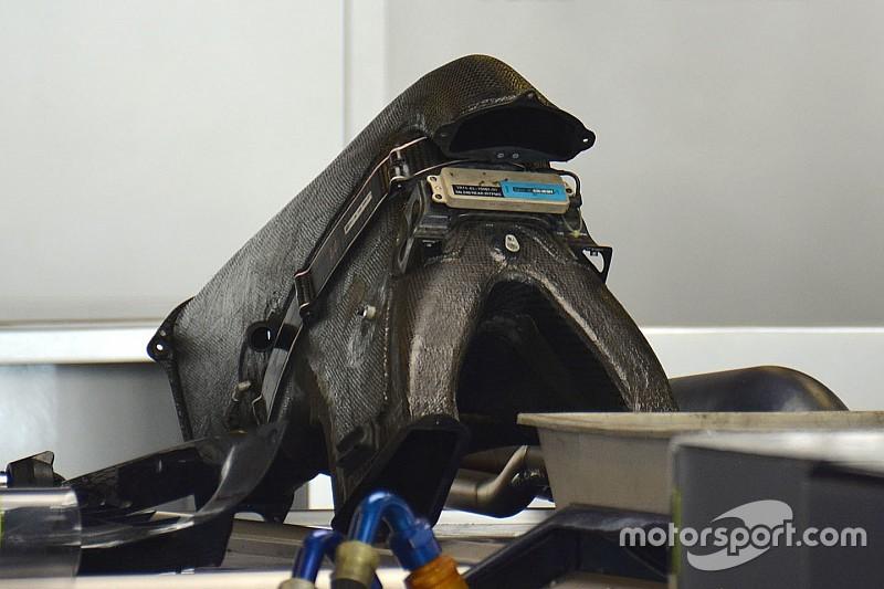 Технічний брифінг: верхній повітрозабірник Toro Rosso