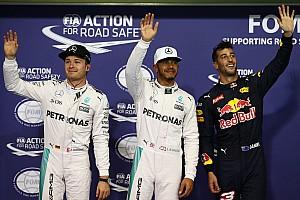 F1 排位赛报告 F1阿布扎比大奖赛排位赛:汉密尔顿抢下决战关键杆位